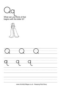 Qq Worksheet