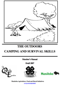 The Outdoors Camping and Survival Skills Activities & Project