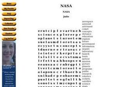 NASA Search Worksheet
