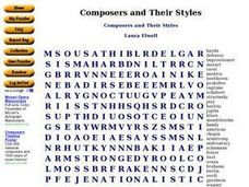 Composers and Their Styles Worksheet