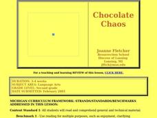 Chocolate Chaos Lesson Plan