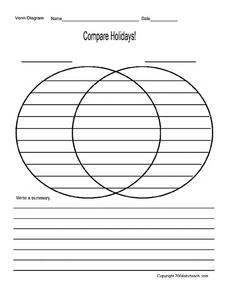 Compare Holidays! Worksheet
