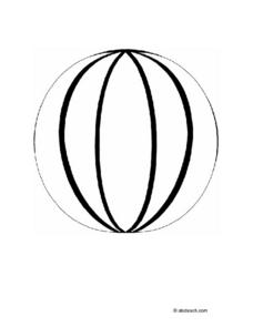 Sphere Drawing Worksheet