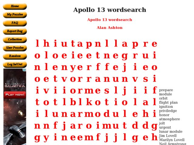 Apollo 13 Lesson Plans Worksheets Reviewed By Teachers