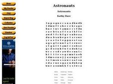 Astronauts Worksheet