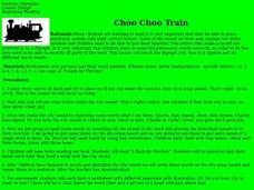 Choo Choo Train Lesson Plan