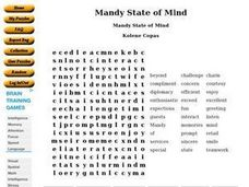 Mandy State of Mind Worksheet