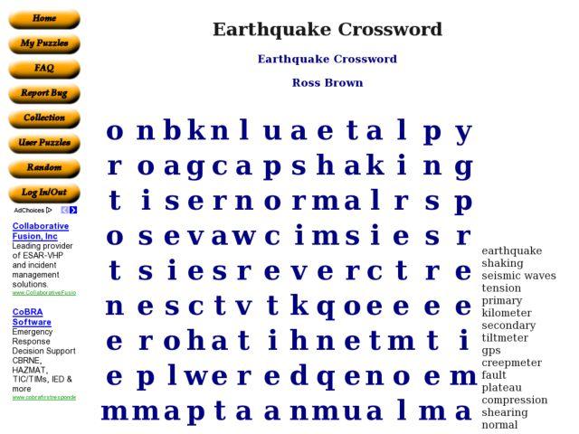earthquake worksheet Termolak – Earthquake Worksheets
