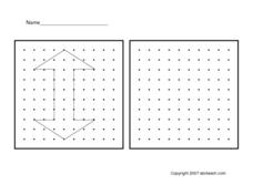 Geo Board Designs Worksheet