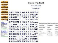 Dutch Windmill Worksheet