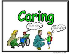 Caring Cartoon Worksheet