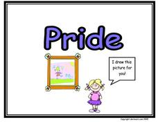 Pride Worksheet