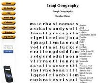 Iraqi Geography Worksheet