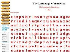 The Language of Medicine Worksheet