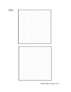 Dot Game Worksheet