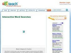 Arctic Word Search Worksheet