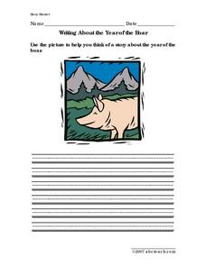Writing About the Year of the Boar Writing Prompt