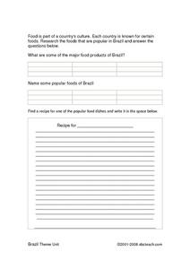 Rain Forest Food Chains Worksheet