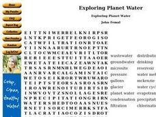Exploring Planet Water Worksheet