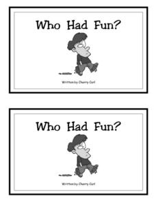 Who Had Fun? Worksheet