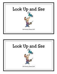 Look Up And See- Full Color Copy Printables & Template