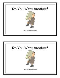 Do You Want Another? -- Full Color Copy Printables & Template