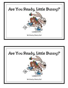 Are You Ready, Little Bunny? -- Full Color Printables & Template