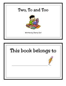 Two, To And Too Printables & Template