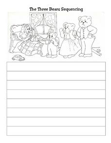 The Three Bears Sequencing Worksheet
