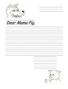 Dear Mama Pig Printables & Template