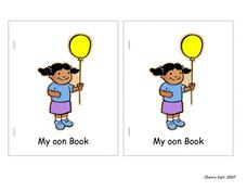 "My ""oon"" Book Lesson Plan"