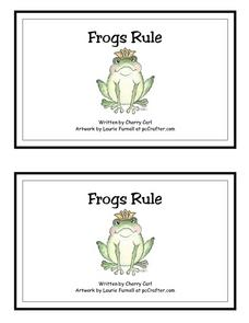 Frogs Rule Worksheet