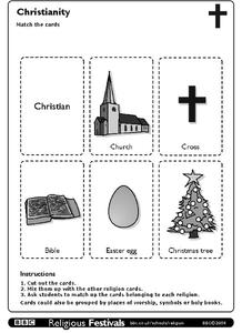 Christianity Worksheet
