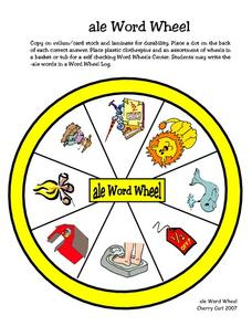 --ale Word Wheel Worksheet