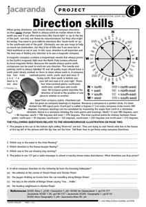 Direction Skills Worksheet