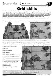 Grid Skills Worksheet