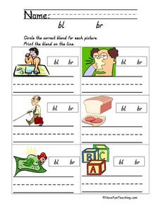 Word Blends Lesson Plan