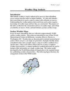 Weather Map Analysis Lesson Plan