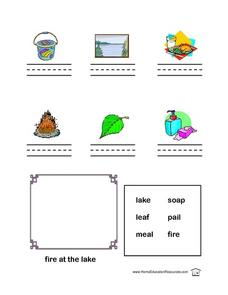 Long Vowel Sounds Continued  Lesson Plan