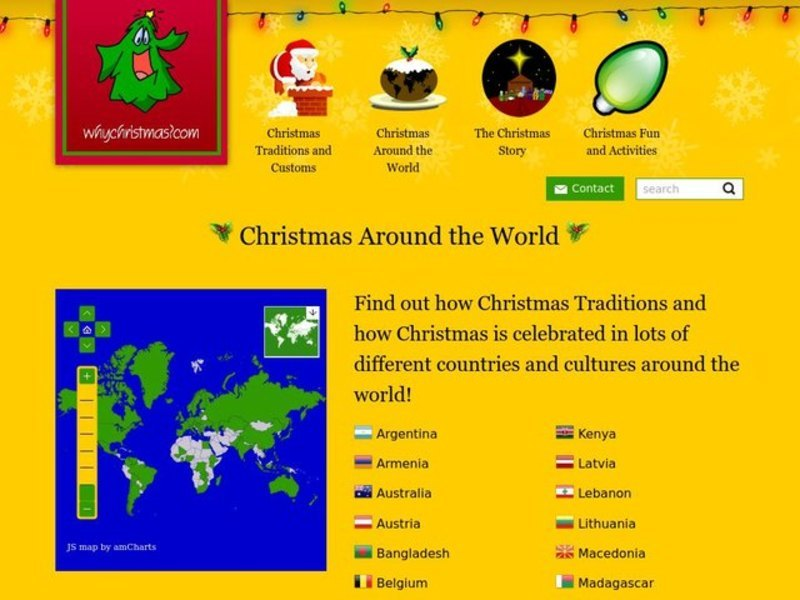Christmas Around the World Interactive