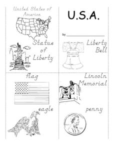 U.S.A. Worksheet