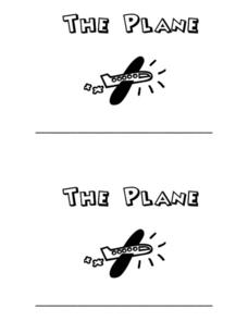 The Plane Worksheet