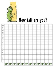 How Tall Are You?: Graph Worksheet
