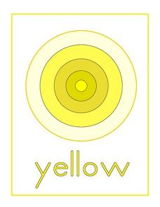 Yellow Bullseye Worksheet