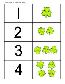 Counting Clovers Lesson Plan