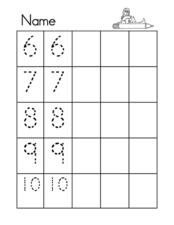 6-10 Worksheet Worksheet