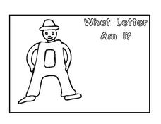 What Letter Am I? Worksheet