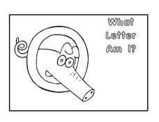 What Letter Am I? Letter Q Worksheet