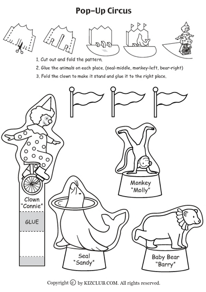 Clowns and Circus Animals Lesson Plans & Worksheets