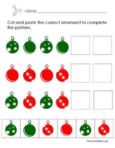 Christmas Patterns Lesson Plan
